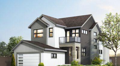 casa con constructores profesionales